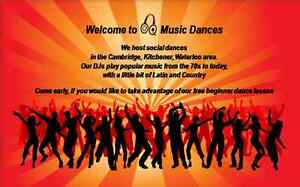 Friday Night Dance Party with Q Music Dances in Kitchener (Cam) Cambridge Kitchener Area image 1