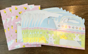 BRAND NEW! 11 EASTER BUNNY CARROTS CHICKS COOKIE CUPCAKE BOXES