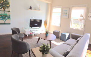 Executive Townhouse Fully Furnished Walk to DT Kitchener