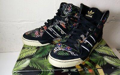 Addidas Men's Shoes ATTITUDE HI size US 11 1/2 Originals Box / Cloth Drawstring