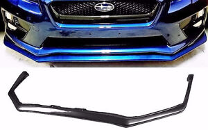 2015 2016 2017 V STYLE FRONT LIP SPOILER BUMPER COVER SKIRT IMPR Prince George British Columbia image 1