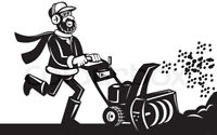 $25 Snowblower oil change. Can include $5 delivery