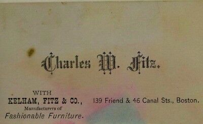 1870's-80's Kelham Fitz & Co Fashionable Furniture Charles W. Fitz P44