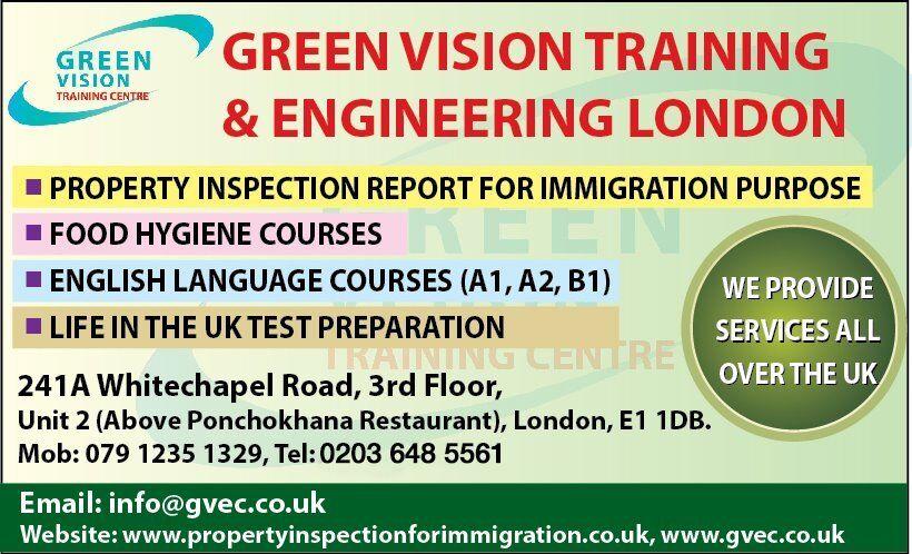 WHITECHAPEL, EAST LONDON, English Language Preparation Centrle for