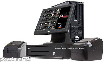 Aldelo Pos Restaurant Bar Bakery Fast Food Complete I3 System 1 Station New
