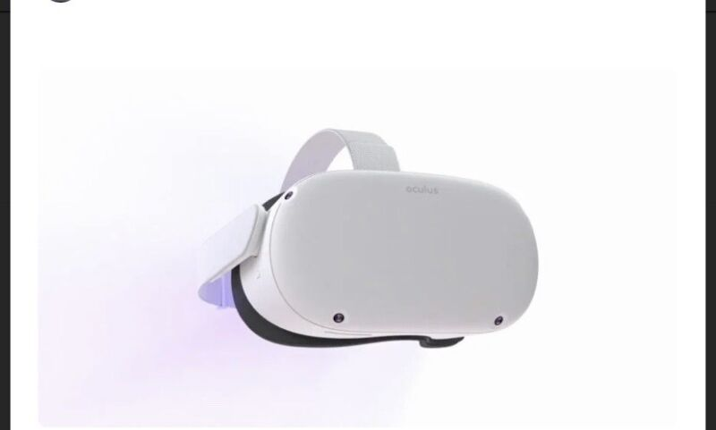 Oculus Quest 2 Elite Strap for Enhanced Support and Comfort in VR * in hand*