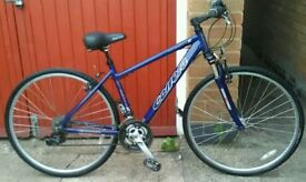 Adults Carrera Crossfire 2 Hybrid Bike in Good Condition