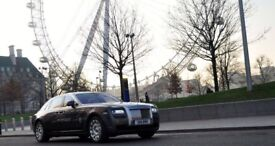 Rolls Royce Ghost Extended Hire London UK Book a luxury car in London and U.K