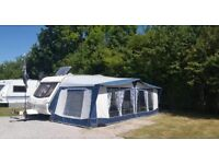 Abbey spectrum 520/5 twin axle caravan. Immaculate condition . Full set up and 2 awnings