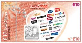 £40 love to shop vouchers