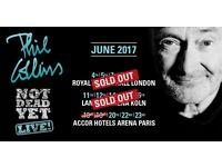 Phil Collins Royal Albert Hall Opening Night 4 Sunday 4th June Stalls H,