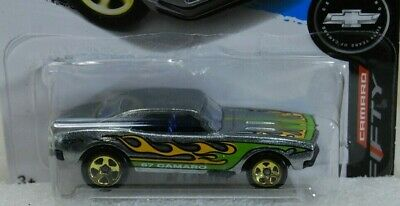 Hot Wheels 2017 Walmart Exclusive ZAMAC '67 Camaro