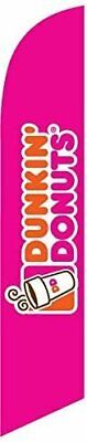 Dunkin Donuts Feather Banner Swooper Flag Replacement Flag Only