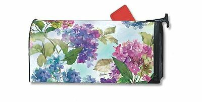 Magnet Works Hydrangeas Original Magnetic Mailbox Wrap Cover
