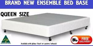 BRAND NEW QUEEN Size Bed Ensemble BASE Delivered FREE New Farm Brisbane North East Preview