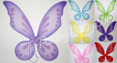 Pixie or Fairy Costume Wings, Infant Child Children's (Infant Fairy Costumes)