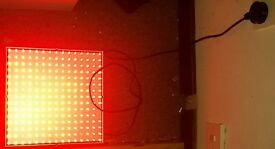 Used Red light led lamp
