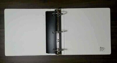 3.5 3 Ring Binders With Dividers - White - Used
