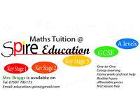 Maths tutor, KS1, KS2, KS3, GCSE and A'levels