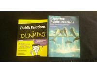 Public Relations books x 2