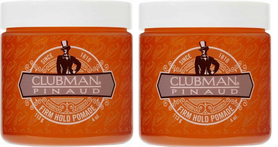 Clubman Pomade, Firm Hold, 4 Ounce