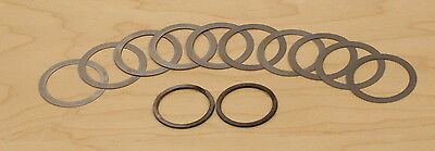 Ih Cub 154 184 Lo-boy Pto Clutch Shims 10 And Retainer Rings 2- New