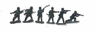 50 Piece Plastic Olive Green Army Men 2 inch Soldiers