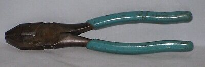 M. Klein Sons Linemanelectrician Side Cutterpliers Chicago Usa. Free Shipping