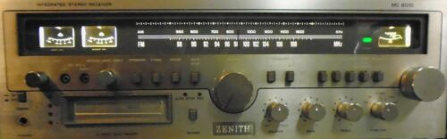 ZENITH STEREO WITH 8-TRACK MODEL MC 6010