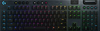 Logitech - G915 LIGHTSPEED Wireless RGB Mechanical Gaming Keyboard with GL Cl...