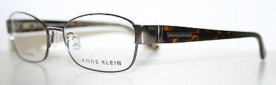 ANN KLEIN AK5013 GUNMETAL New Designer Optical Eyeglass Frame For Women