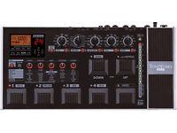 Guitar multi effects - Korg AX3000G Toneworks pedal board