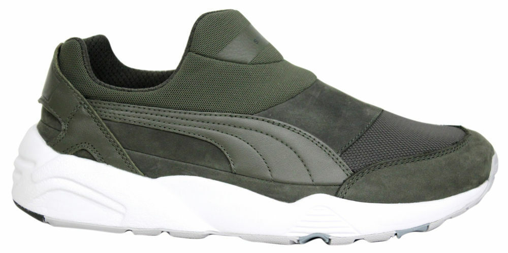 Puma Trinomic Sock NM x Stampd Green Slip On Shoes Mens Trainers 361429 01 B97D