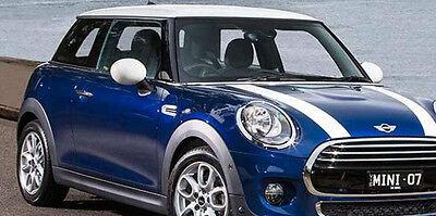 "Mini Cooper 2002-2013 Hood Stripe Decals - choose color ""3M "" USA"