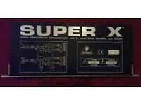 BEHRINGER CX2300 SUPER X CROSSOVER UNIT WITH LIMITERS