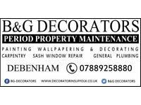 Painter And Decorator (Woodbridge Area)