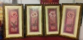 4 x pictures in frames