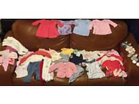 0-3 month baby girl bundle- EXCELLENT CONDITION