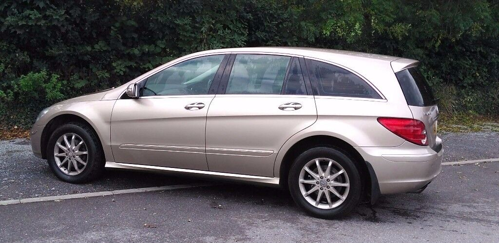 Mercedes R Class - 6 seats, full service history, new tyres, 1 year MOT!!!!!!