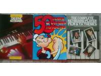 Piano and Keyboard Music Books