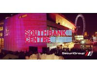 Southbank Centre NYE Event | SIA Licensed | London