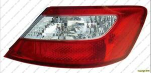 Tail Light Passenger Side Coupe Honda Civic 2006-2008