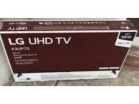 "LG 43 "" 4K UNBOXED TV"