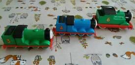 Thomas and Friends chunky toys - Henry, Gordon & Percy