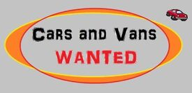 all cars or vans or 4x4 wanted