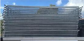 Site security fencing / heras fencing panels