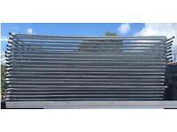 Site security fencing / heras fencing panels