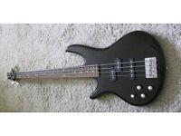 Left handed Ibanez GSR200L bass guitar