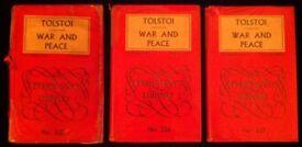 Vintage Tolstoi's 'War & Peace' Volumes 1-3 (1957)