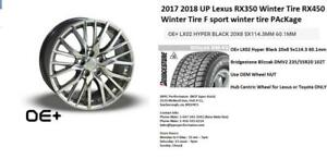2017 2018 UP Lexus RX350 Winter Tire RX450 Winter Tire F sport   20 Inch Package with 235/55R20 Tire Size (